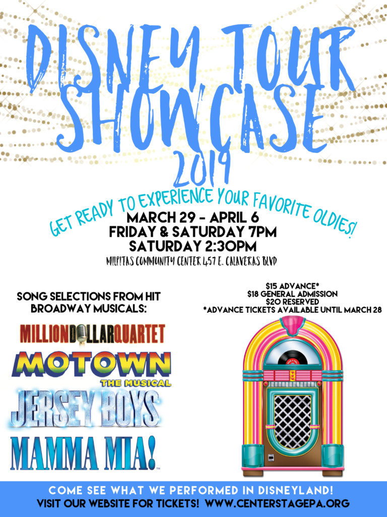 Center Stage Performing Arts Showcase 2019 @ Milpitas Community Center