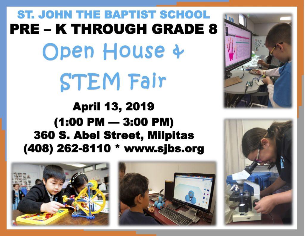 STEM Fair and Open House @ St. John the Baptist Catholic School