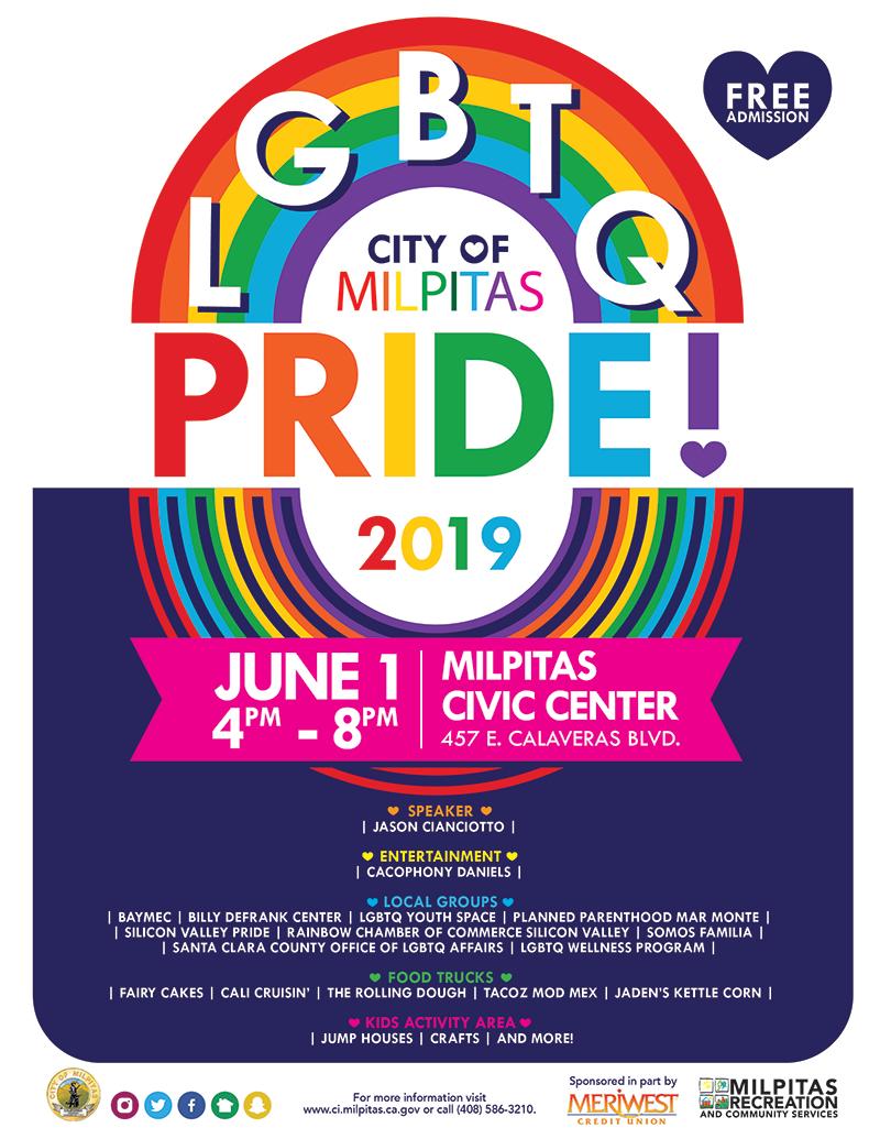 LGBTQ Pride 2019 @ Milpitas Civic Center