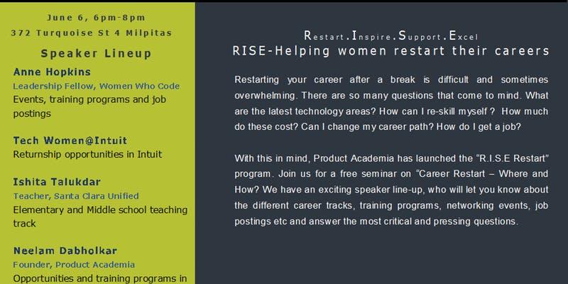 RISE - Helping women restart their careers