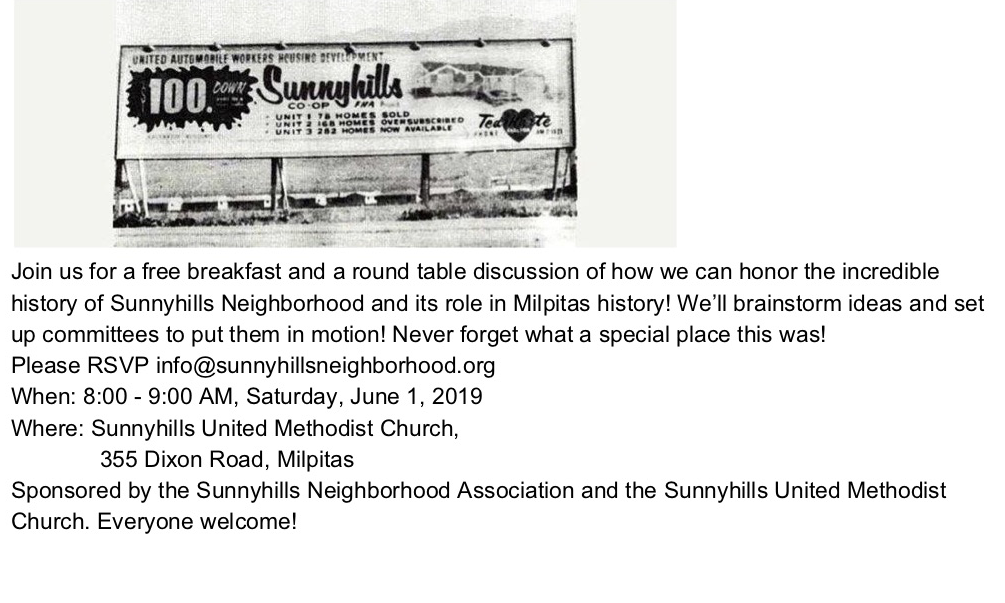 Sunnyhills June Breakfast @ Sunnyhills Methodist Church