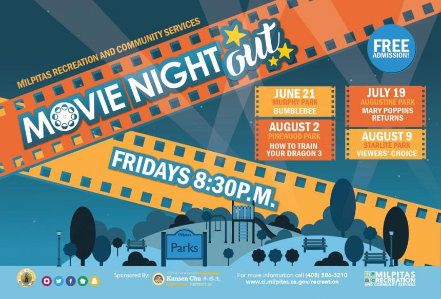 Movie Night Out - Bumblebee @ Murphy Park